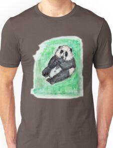 Scruffy panda Unisex T-Shirt