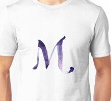 Alphabet M Unisex T-Shirt