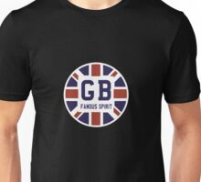 Famous British Spirit - Union Jack Flag T-Shirt T-Shirt