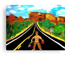 Hitchhiker Canvas Print