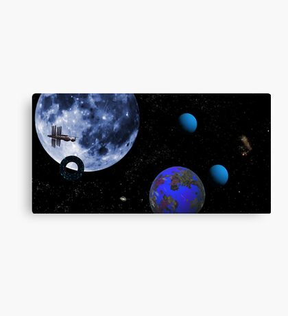 Wild Blue Yonder. Canvas Print
