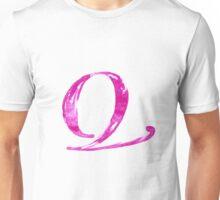 Alphabet Q Unisex T-Shirt