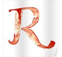 Alphabet R Poster