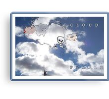 CLOUD PEOPLE Plus Metal Print