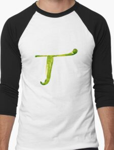 Alphabet T Men's Baseball ¾ T-Shirt