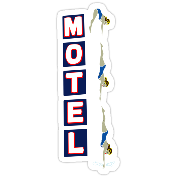 Motel Sign by Mason Mullally