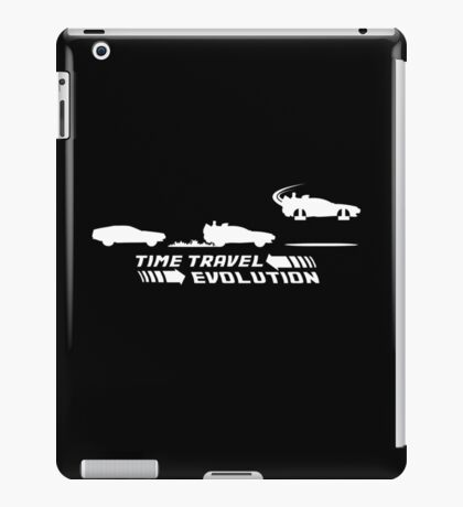 Time Travel Evolution iPad Case/Skin