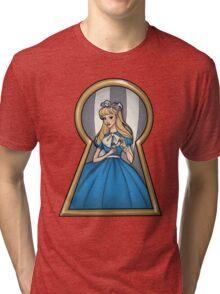 Through The Key Hole Tri-blend T-Shirt