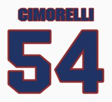 National baseball player Frank Cimorelli jersey 54 by imsport