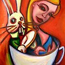 Alice in the Tea Cup by kimbaross