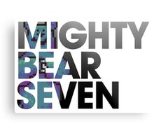 Mighty Bear Seven Metal Print