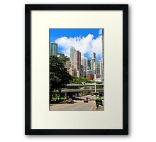 City of Colors III - Hong Kong. Framed Print
