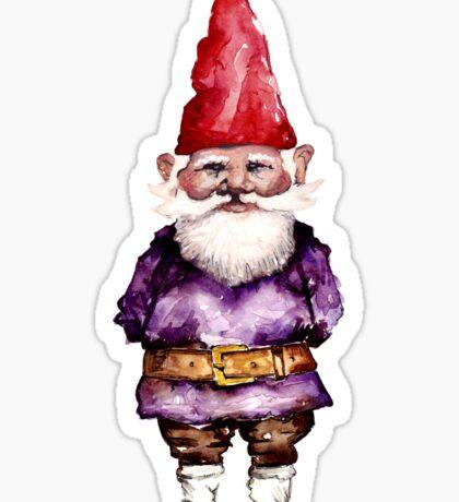 Alfred the gnome Sticker