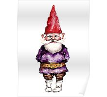 Alfred the gnome Poster