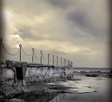 """Posts & Chains"" Collaboration with Mel Brackstone by Naomi Frost"
