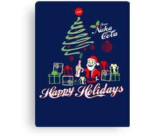 Nuka Cola Christmas! Canvas Print