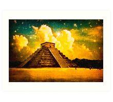The Enduring Mystery Of The Maya - Chichen Itza Art Print