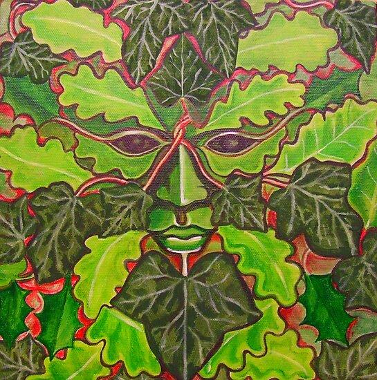 The Green Man by Anni Morris
