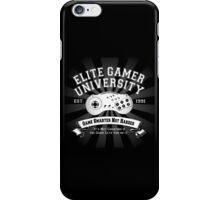 Elite Gamer University iPhone Case/Skin