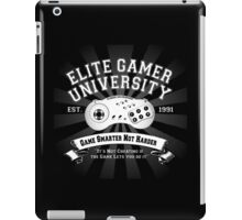 Elite Gamer University iPad Case/Skin