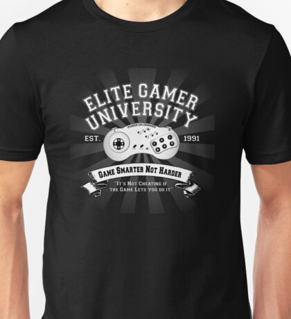 Elite Gamer University Unisex T-Shirt