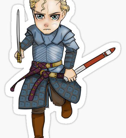 Brienne of Tarth Chibi Sticker