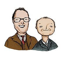 Vic & Bob Photographic Print