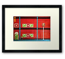 Shinobi World Framed Print