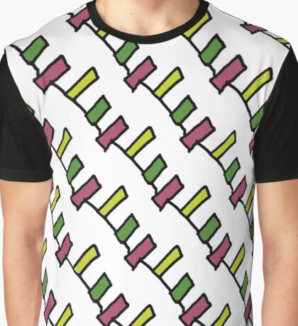 Washing Line Sym Graphic T-Shirt