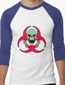Zombie Green Finger Men's Baseball ¾ T-Shirt
