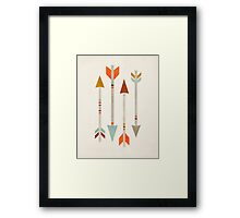 Four Arrows Framed Print