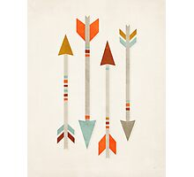 Four Arrows Photographic Print
