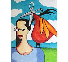 The Hairdresser Bird Photographic Print