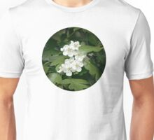 Tiny Blossoms In The Dark Forest Unisex T-Shirt