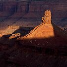 First window of light at Dead Horse Point SP _ Utah by Barbara Burkhardt