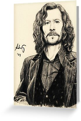 Sirius Black by Lyvyan