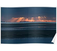 Sunrise at Nudgee Beach Poster