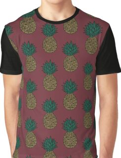 Pomegranate - Pineapple Graphic T-Shirt