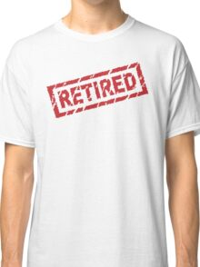 officially retired Classic T-Shirt