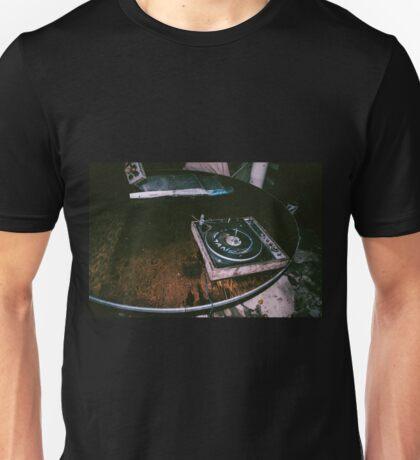 broken record Unisex T-Shirt