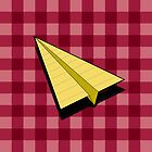 Paper Airplane 89 by YoPedro