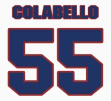 National baseball player Chris Colabello jersey 55 by imsport