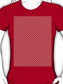 Polkadots Red and White T-Shirt