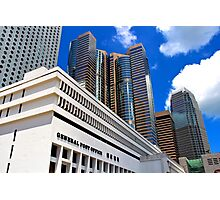 General Post Office - Hong Kong. Photographic Print