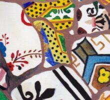 Gaudi tiles Sticker