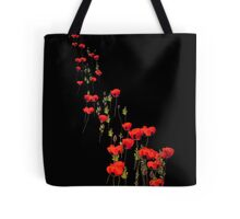 The March of the Poppies Tote Bag