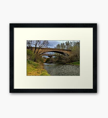 """""""The Old and The New"""" Framed Print"""