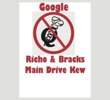 4Q T-Shirt . Style T4 Google Richo & Bracks,  Main Drive Kew by 4Kew