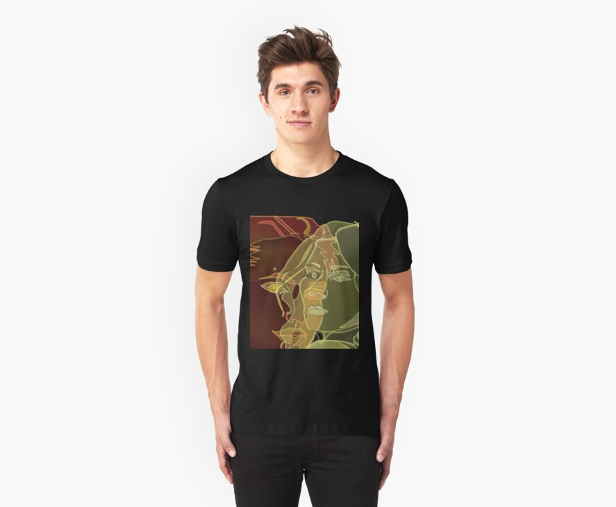 TSHIRT Fine Art Phantom Girsl by Dominic Melfi