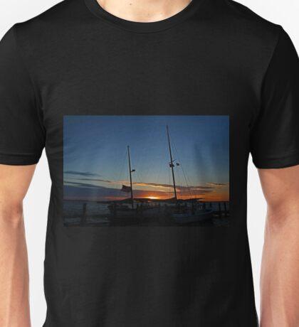 Sunset on the Alondra Unisex T-Shirt